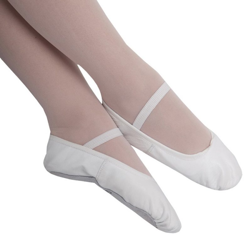 SOFT-SHOES-FULL-SOLE-WHITE